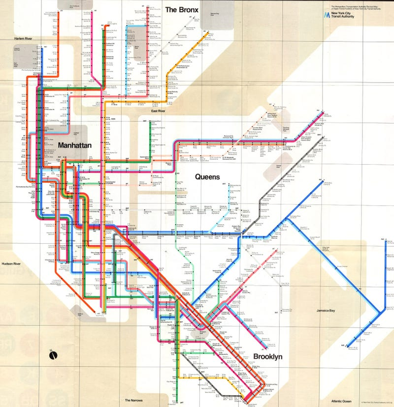 15 Subway Maps That Trace NYCs Transit History – Map New York City Subway