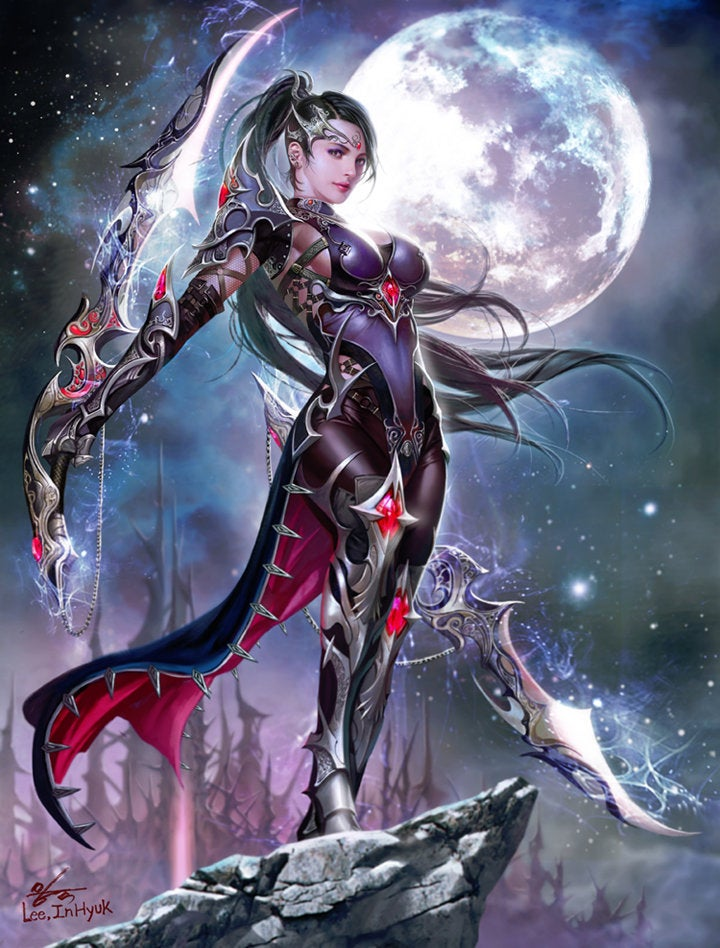 3d badass girl destroyed by mutants - 3 7