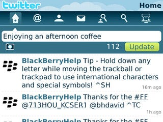 Illustration for article titled Twitter for BlackBerry Available Tonight