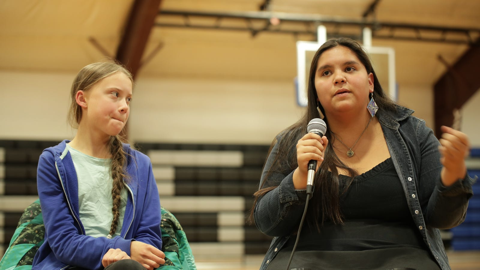 Greta Thunberg Heads to Standing Rock to Support Indigenous Activists