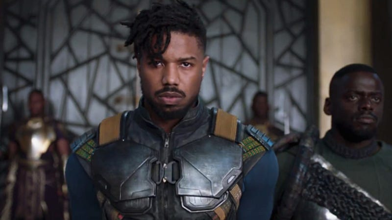 491e848c71b Michael B. Jordan as Killmonger in Black Panther (Marvel)