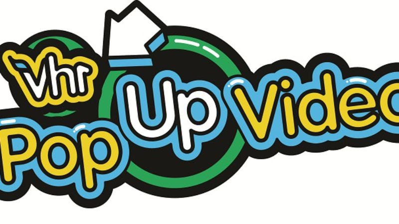 Illustration for article titled Pop Up Video