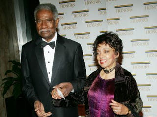 Ossie Davis and Ruby Dee in 2004 (Evan Agostini/Getty Images)