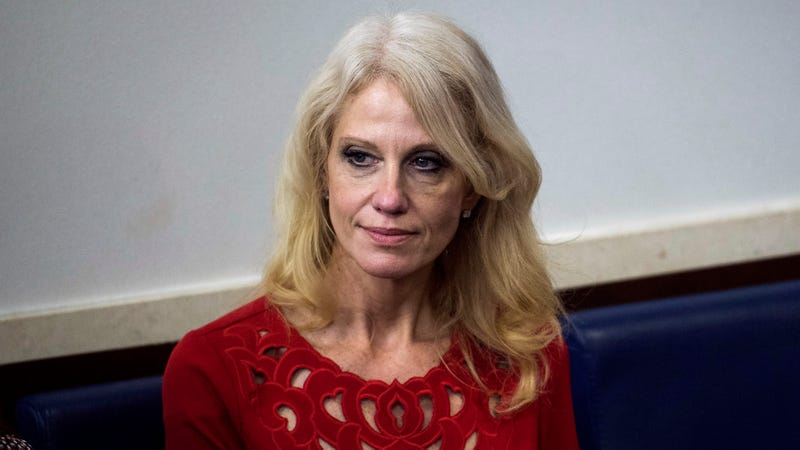 Illustration for essay patrician Kellyanne Conway Decides To Lie Low Until Rule Of Law Dies Down