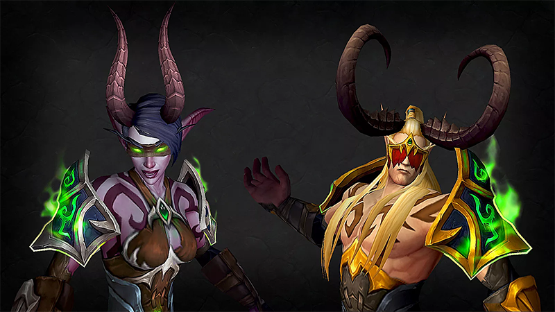Illustration for article titled What's Up With World Of Warcraft's New Double-Jumping Fetish Elves