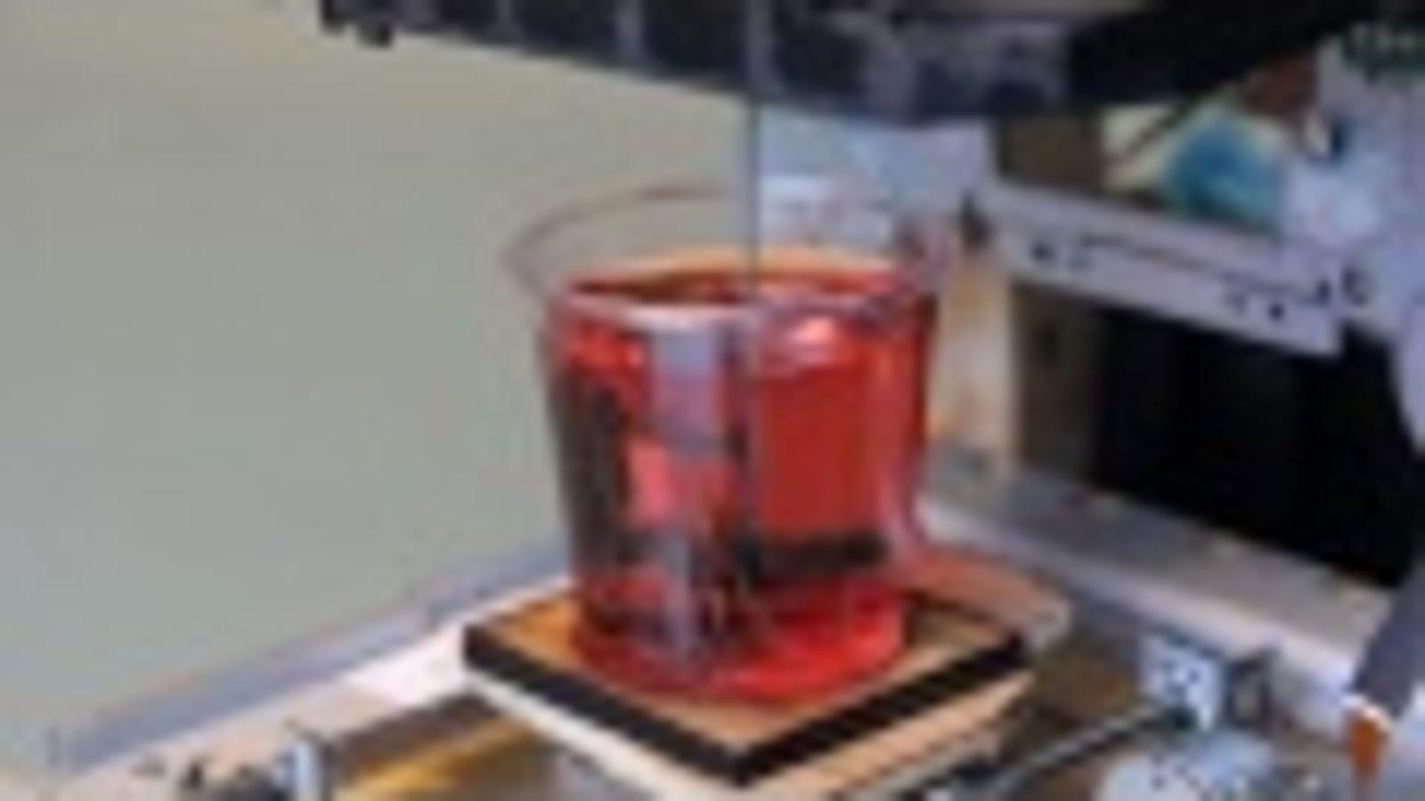 A 3D Printer That Draws Designs in Jello Shots: Nerd Frats, Rejoice