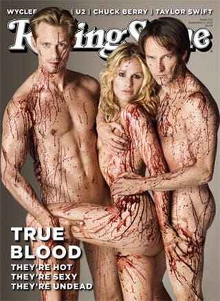 Illustration for article titled Rolling Stone delivers the True Blood fangbang you've been dreaming of