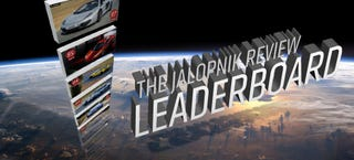 Illustration for article titled The Jalopnik Review Leaderboard