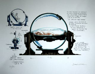 Illustration for article titled Astoundingly Beautiful Concept Art from The Fifth Element