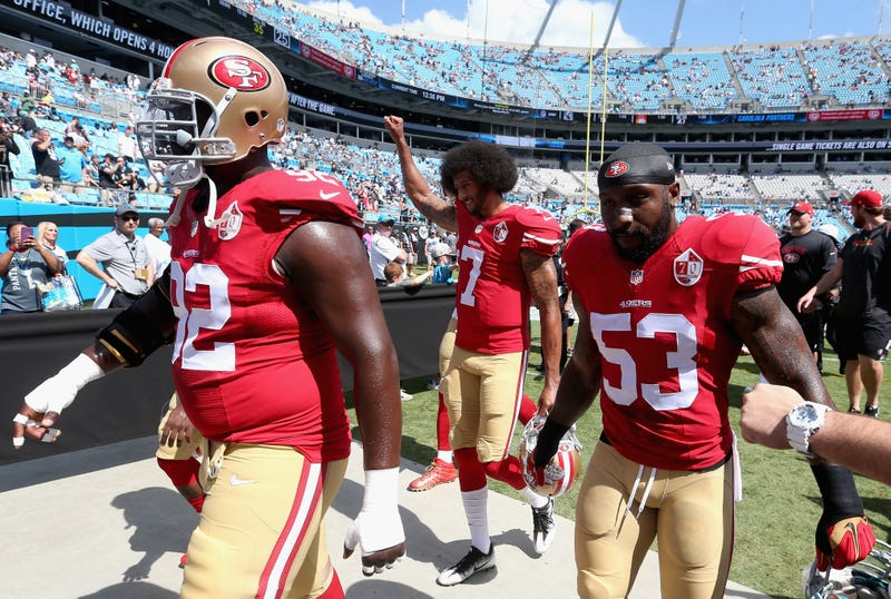 NFL Players Demonstrate During National Anthem After Trump Demands They Be Fired