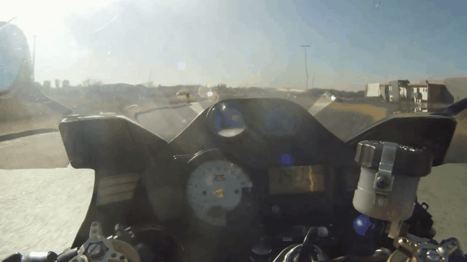 Strange Things Happen When You Turbo A GSXR