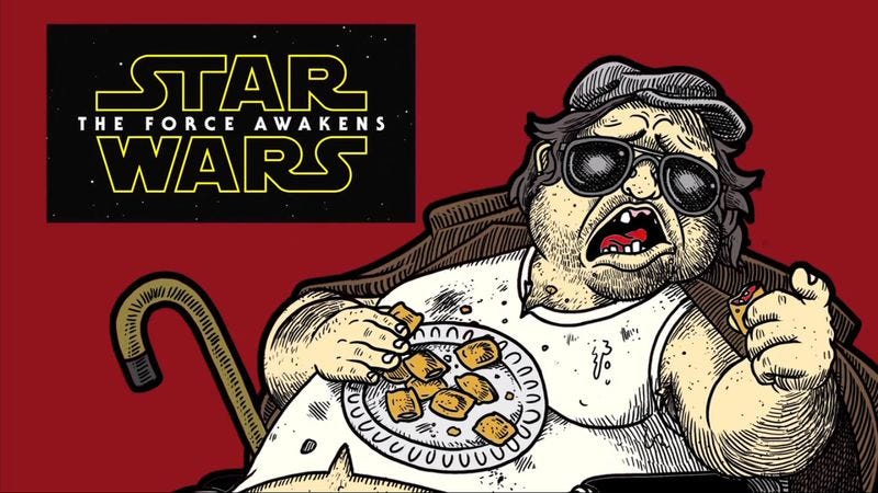 Illustration for article titled Red Letter Media's Mr. Plinkett reacts to that new Star Wars trailer