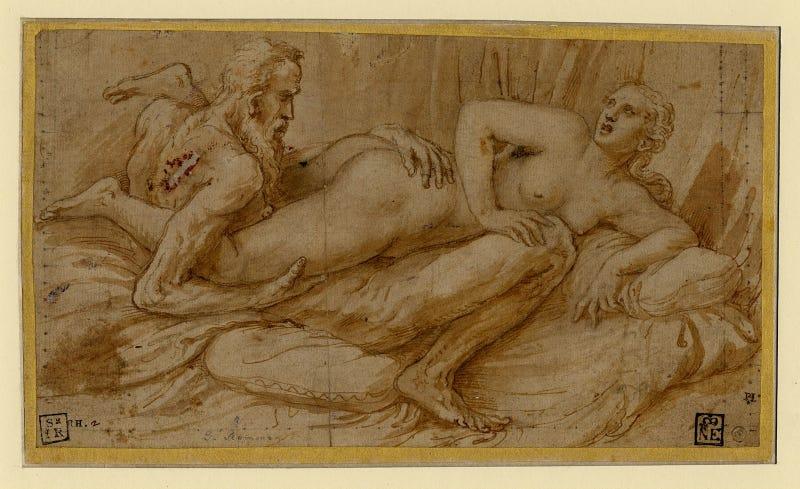 Erotic scene, ca. 1524 (Fig. 1)