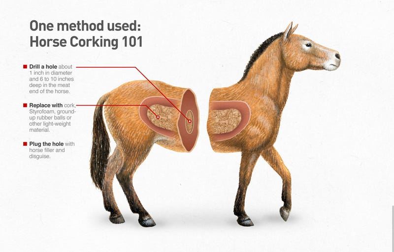 Illustration for article titled What You Need To Know About Horse Corking