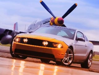 """Illustration for article titled Ford Builds One-Off Mustang AV-X10 """"Dearborn Doll"""" For Fundraiser"""
