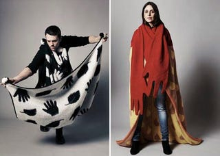 Illustration for article titled The Snuggie for Stylish People and Home Thespians