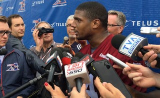 Illustration for article titled Michael Sam Returns To CFL Team After Unexplained Absence