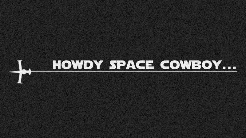 Illustration for article titled Static - Howdy Space Cowboy