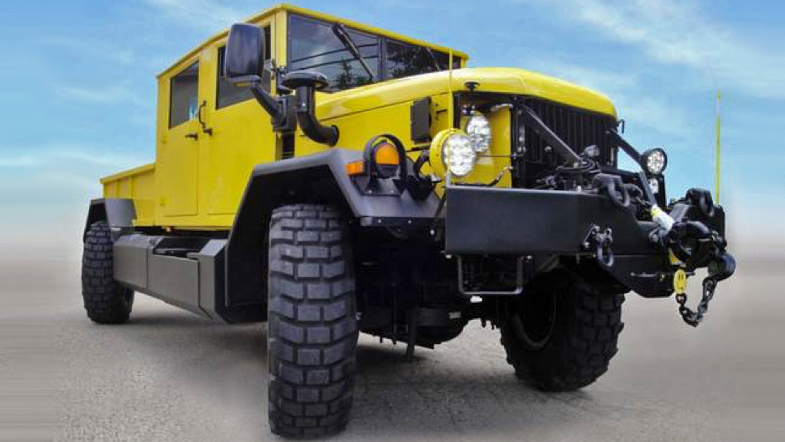 This Restomod Army Truck Is The Cleanest And Coolest 'Deuce And A Half'