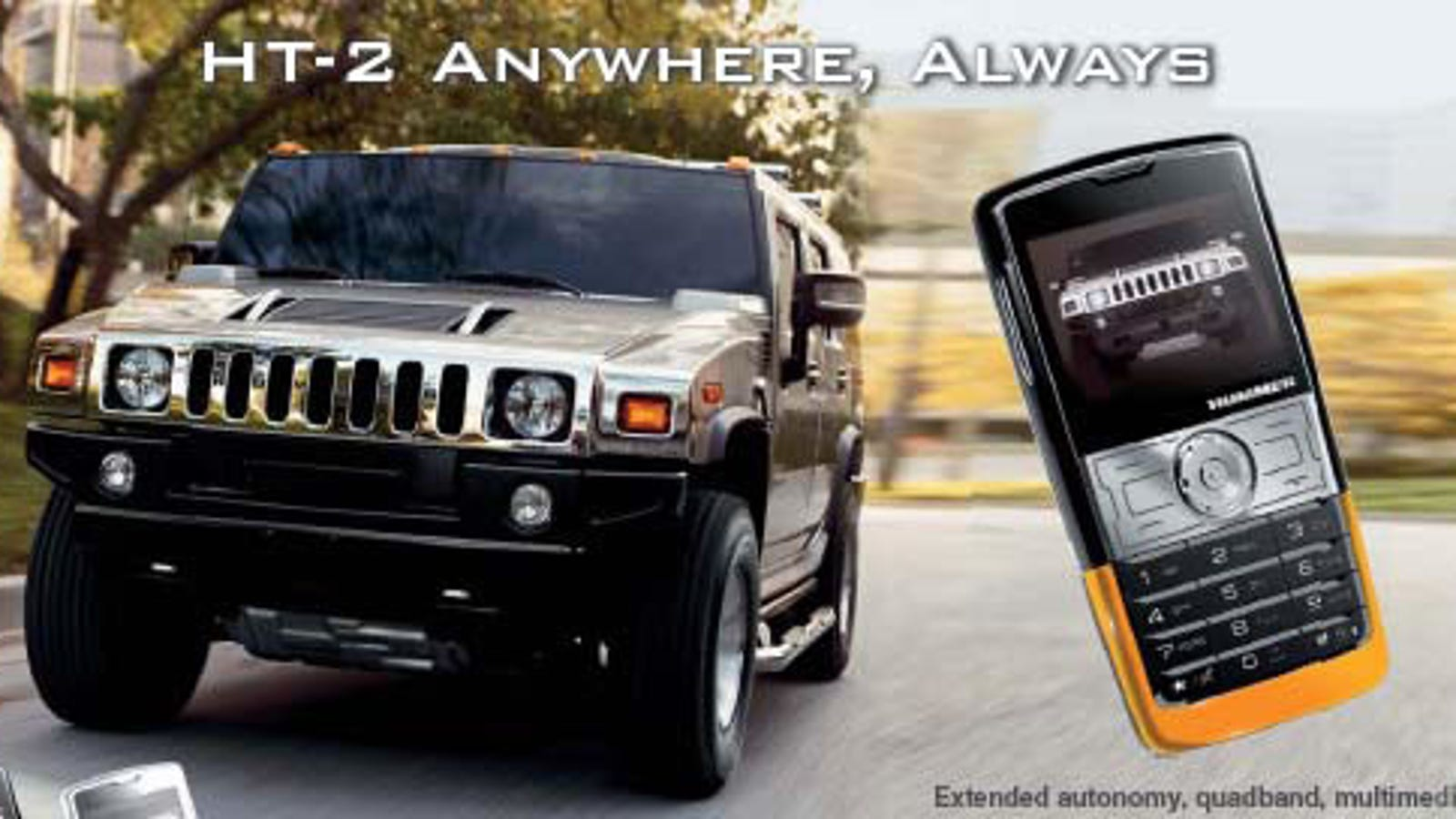Hummer-Branded Mobile Phone Is Very Capable, Surprisingly | hummer mobile phones