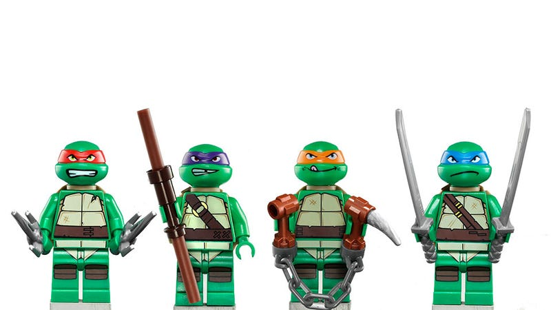 Illustration for article titled Teenage Mutant Ninja LEGO Debut at New York Comic-Con