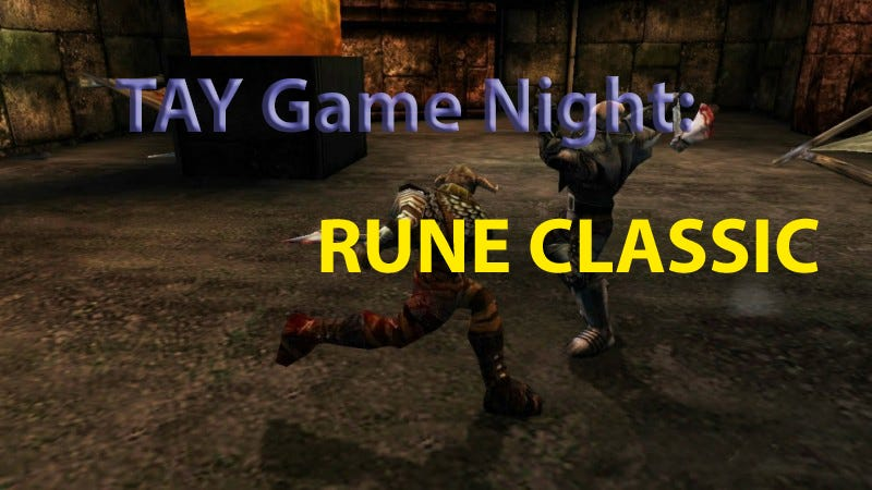 Illustration for article titled TAY Game Night: Rune Classic (PC)