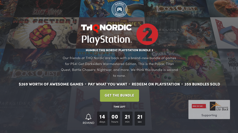 Humble THQ Nordic Bundle   Humble