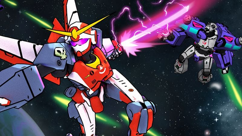 Illustration for article titled Galak-Z emulates the retro anime experience, warts and all