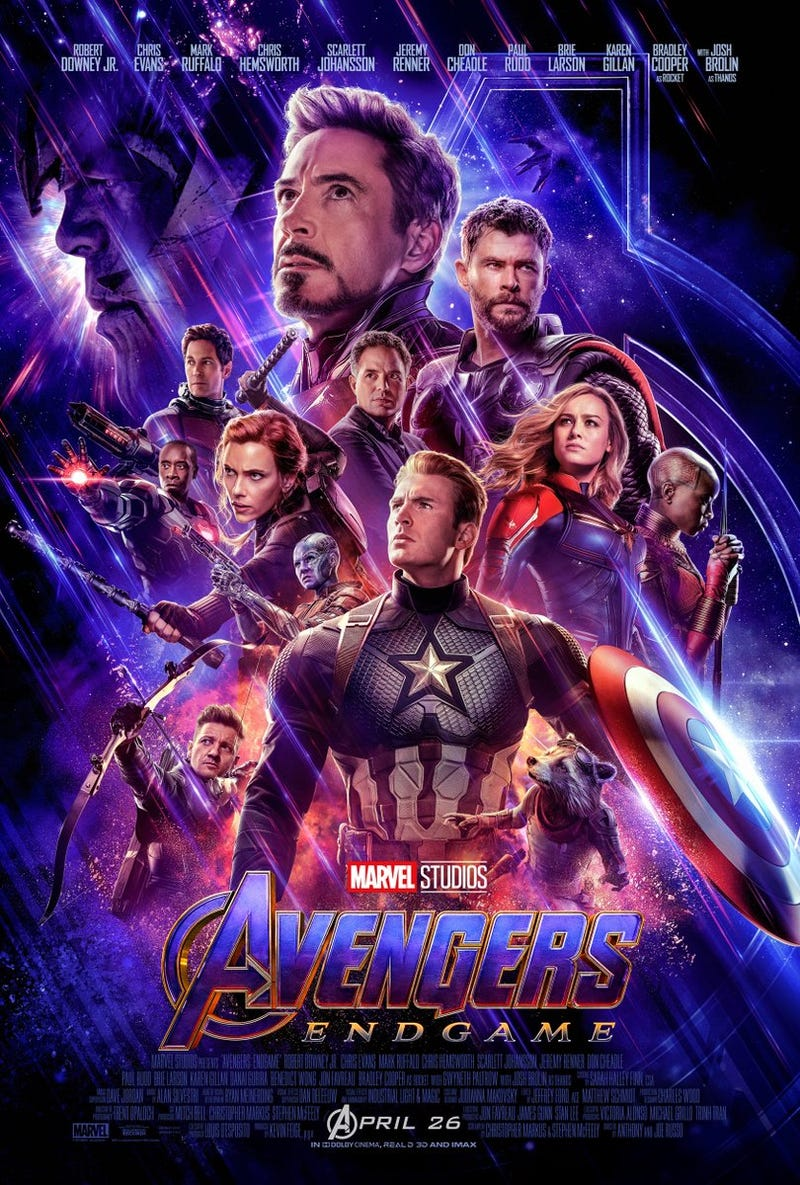 Illustration for article titled Avengers Endgame poster
