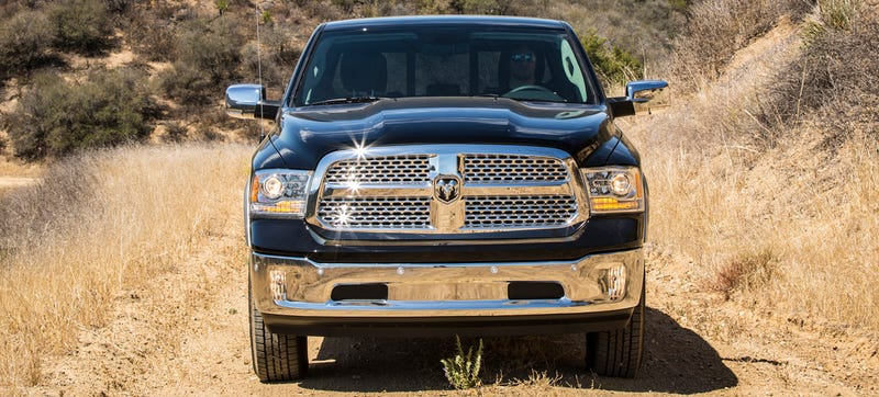 Illustration for article titled Is Ram Slowly Killing Its Iconic Crosshair Grille?