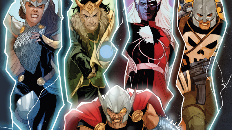 The movers and shakers of the War of the Realms are in some wild new places as of Omega.