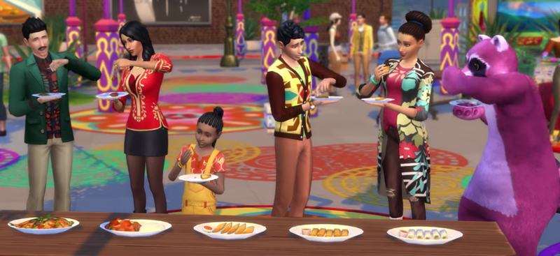 Illustration for article titled Sims 4 Bug Leads Players To Count Their Calories