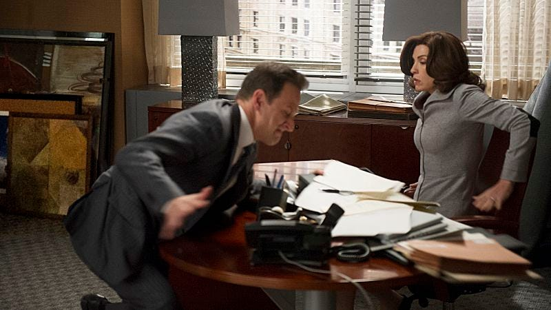 """Illustration for article titled The Good Wife: """"Hitting The Fan"""""""