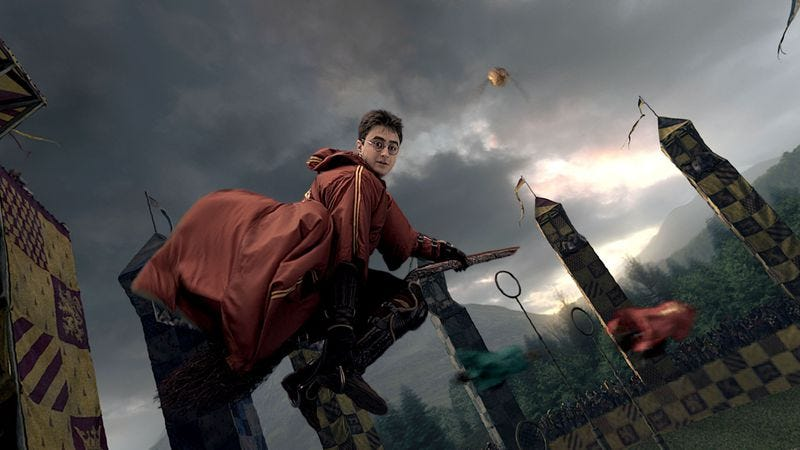Illustration for article titled Someone is making a documentary about college students playing Quidditch