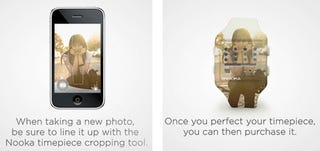 Illustration for article titled iPhone App Concept Makes A Nooka Watch With Your Photos