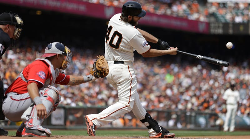 Illustration for article titled Madison Bumgarner Is The Giants' Best Pinch-Hitter