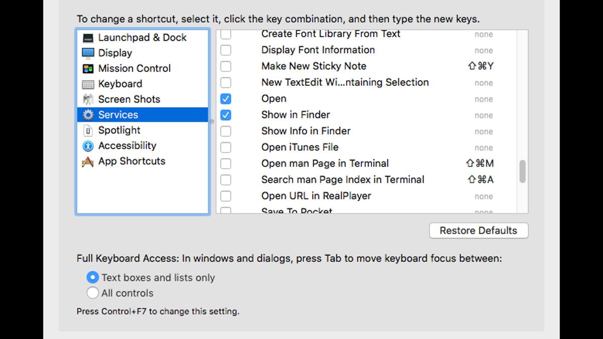 Personalize Your Macs Right Click Menu