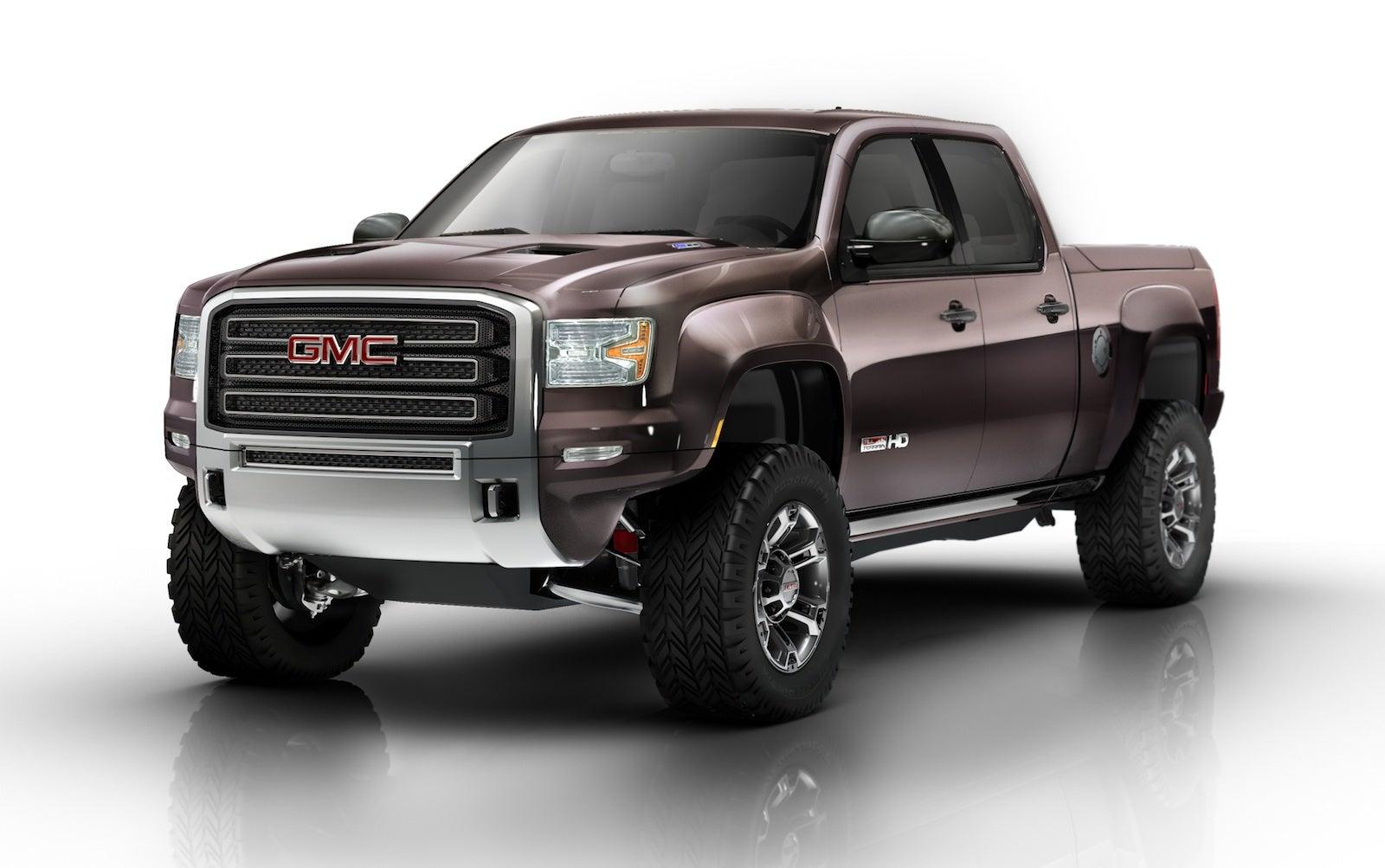GMC Sierra All Terrain HD Concept: Diesel-Powered Off-Road ...