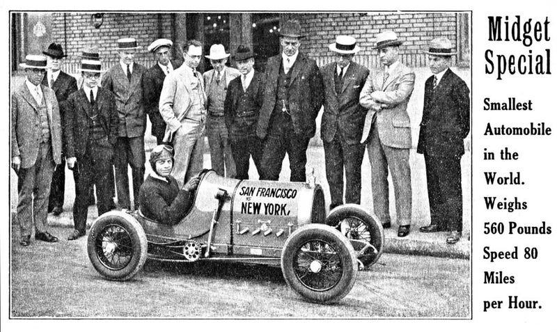 Illustration for article titled Gus P(r)etzel's 1925 Coast-To-Coast Run