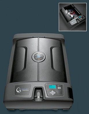 Illustration for article titled Biometric Fingerprint Safe is NRA Endorsed, Futuristic