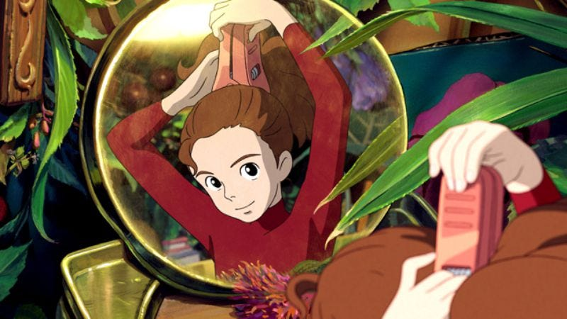 Illustration for article titled The Secret World Of Arrietty