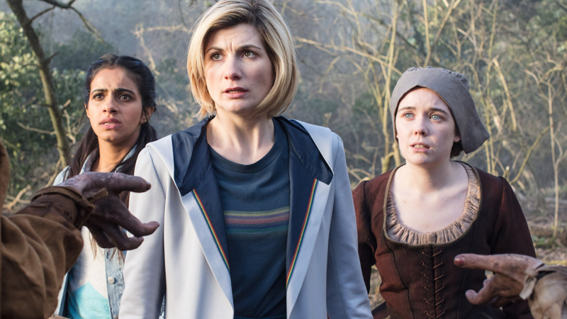 The 13th Doctor and her friends find themselves facing a sinister new threat... Amazon streaming executives?