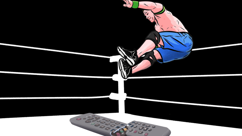 Illustration for article titled Pro Wrestling Is Great, And You Should Try Watching Less