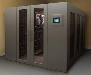 Walk In Wine Cellar Vault Our Superhero Lair