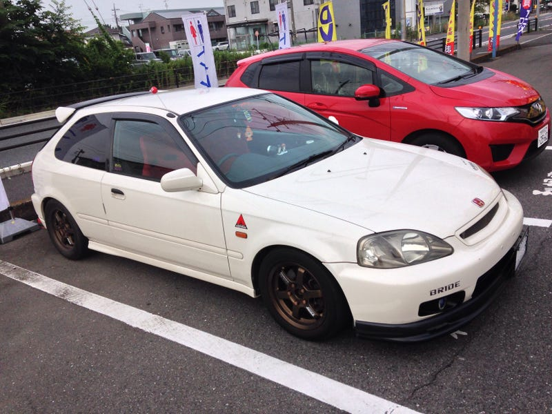 Illustration for article titled Random Civic Type R in Gunma