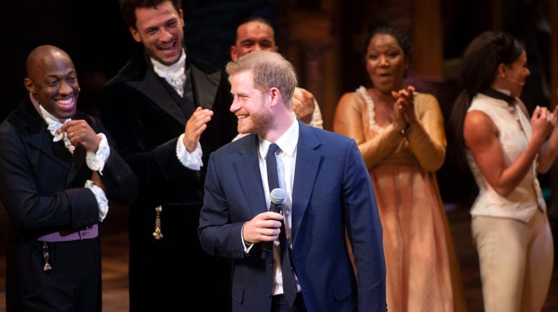 Illustration for article titled Prince Harry Definitely Wanders Around Kensington Palace Warbling Songs from Hamilton
