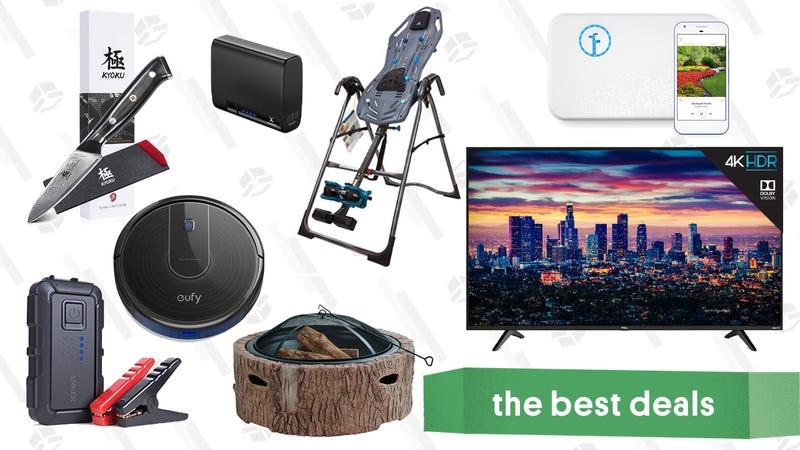 Illustration for article titled Tuesday's Best Deals: Posture Corrector, Fresh Scallops, Dolby Vision TVs, and More