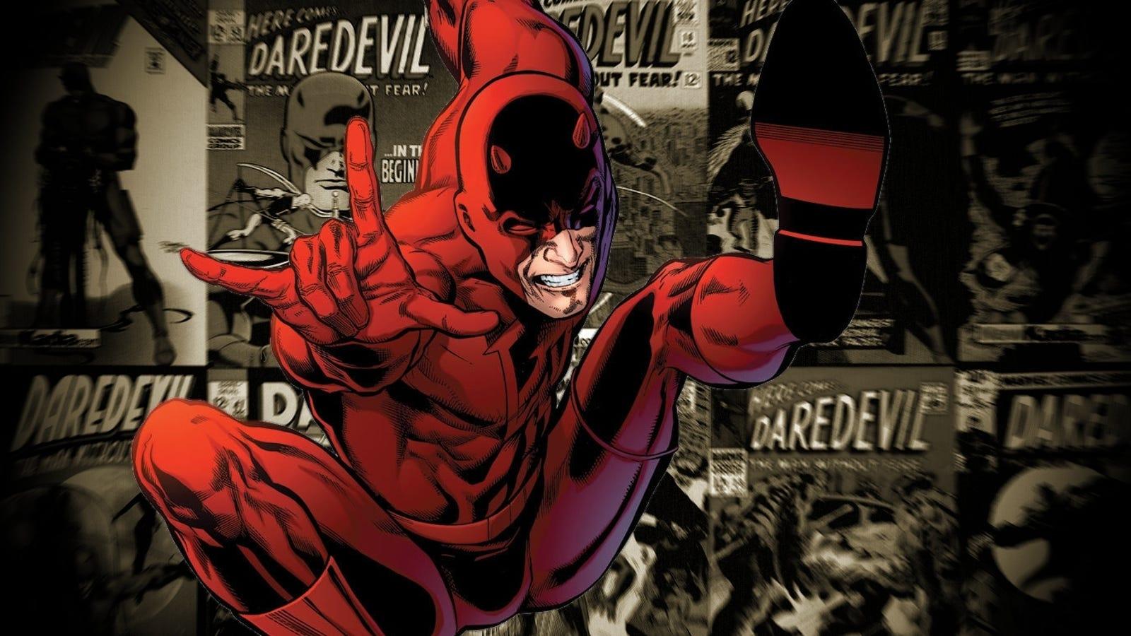 Daredevil sí usará su traje rojo en la serie de Netflix, y luce genial