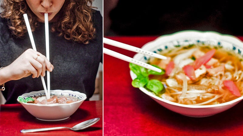 Illustration for article titled Chopstick Straws (YEP) Will Change How You Eat Ramen Forever