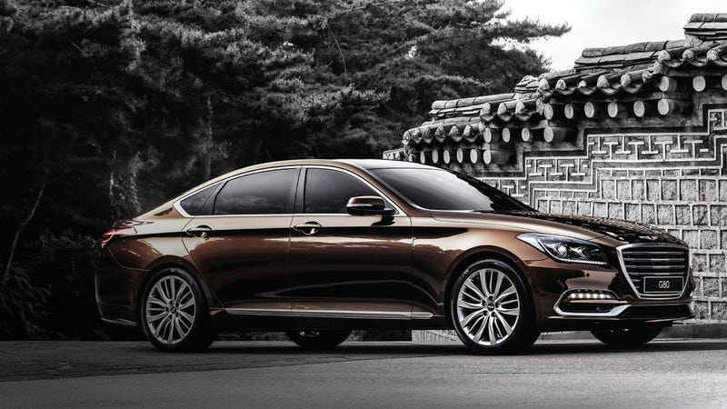 The Us 2017 Genesis G80 Isn T The Real Genesis G80